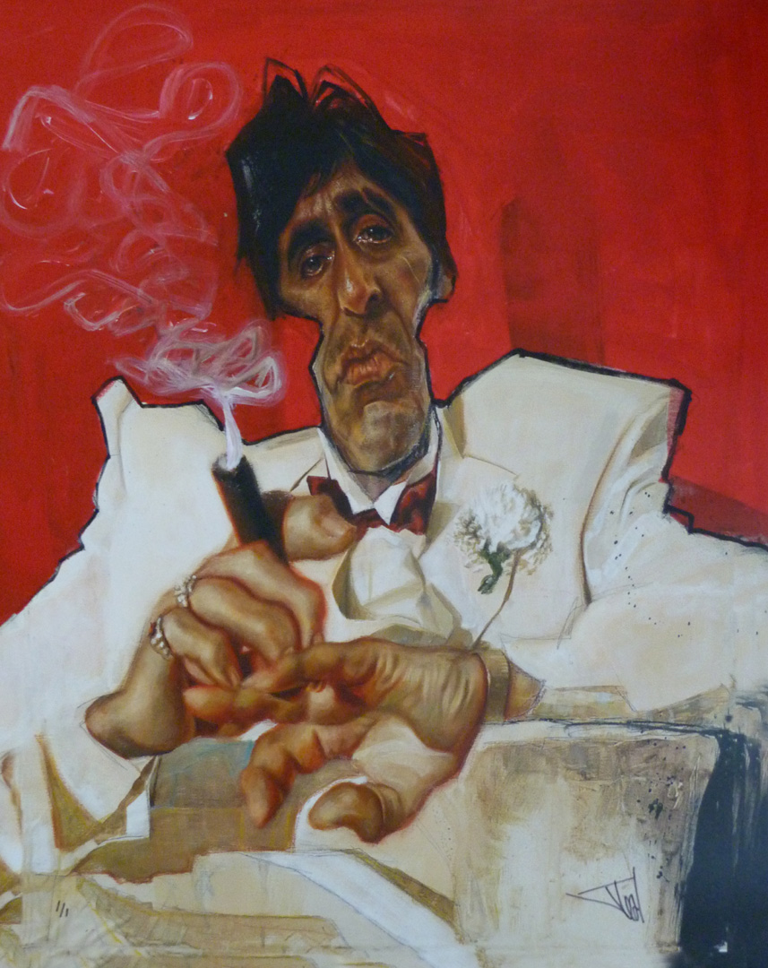 Scarface in Red