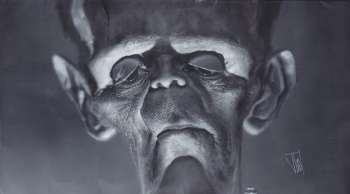 Frankenstein's Monster Close-up