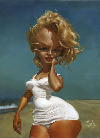 Marilyn at Beach